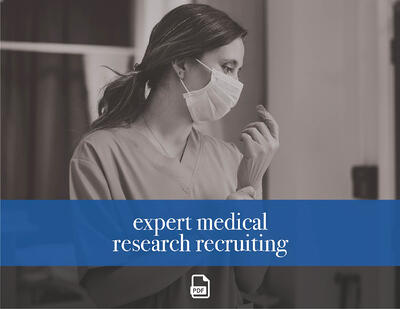 Fieldwork Expert Medical Research Recruiting