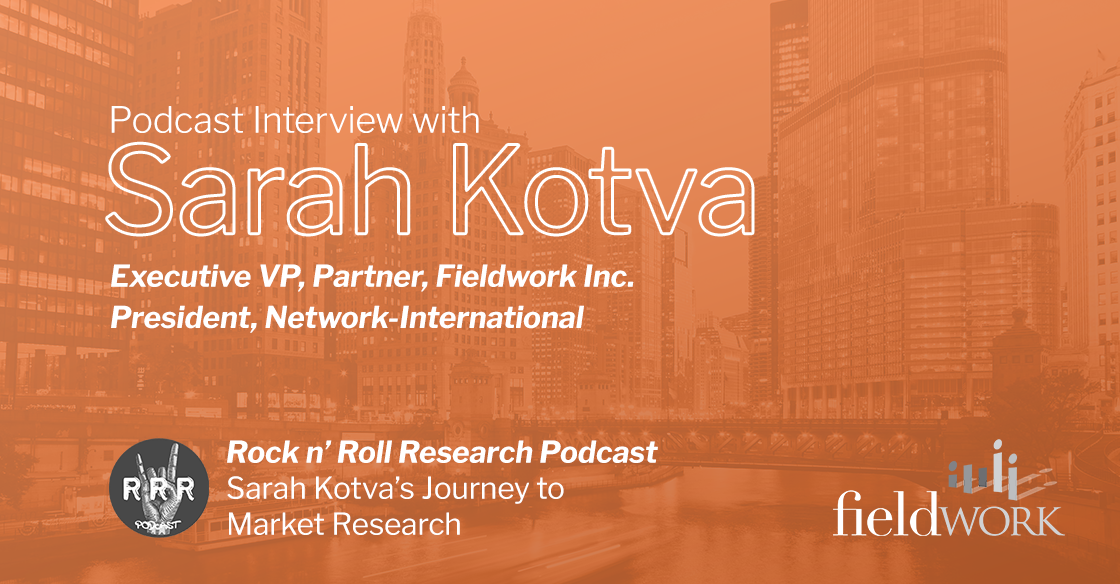 Sarah Kotva's Journey to Market Research
